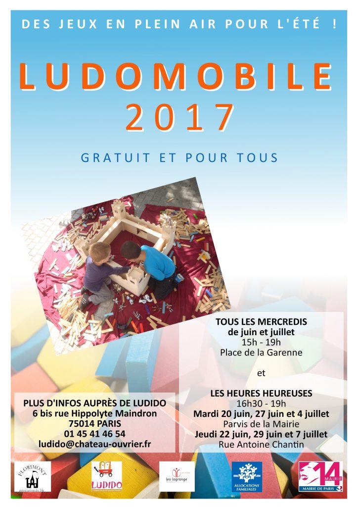 Affiche Ludomobile 2017