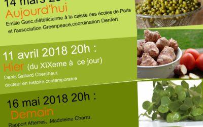 Notre Alimentation avec Graine de quatorzien, avril-mai 2018