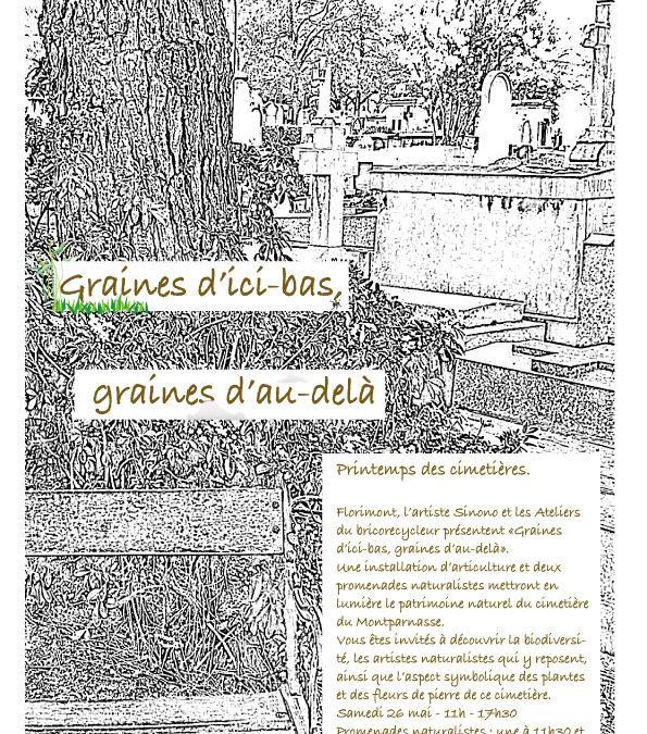 Printemps des cimetières 2018 à Montparnasse