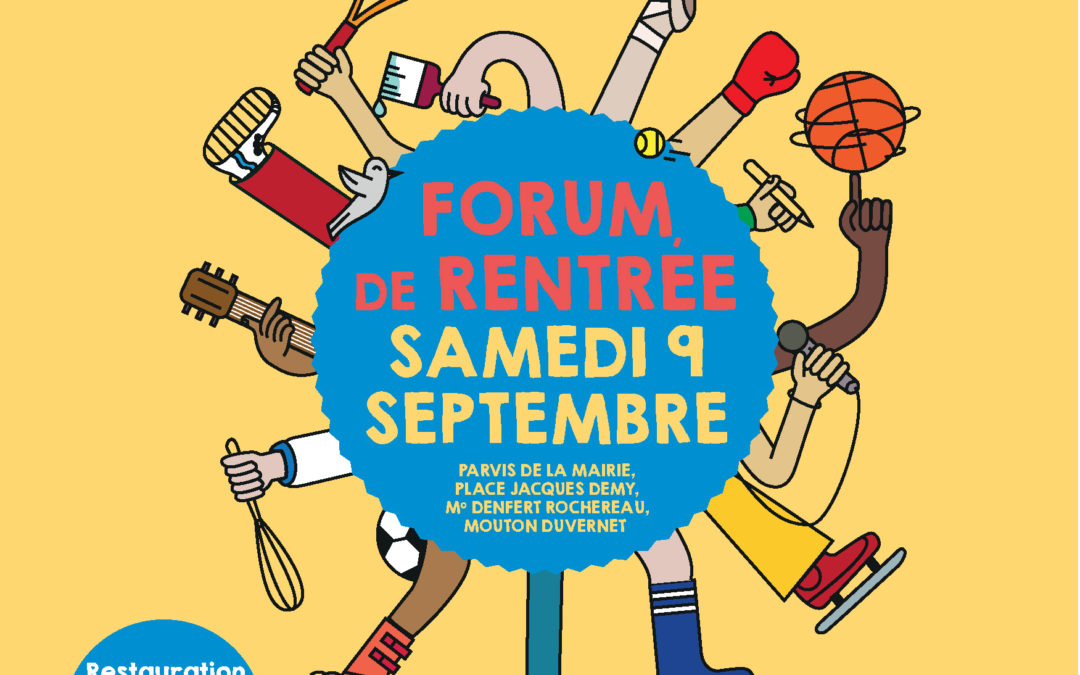Florimont est au forum des associations le 8 septembre