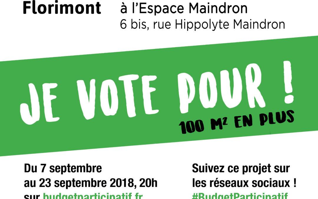Votez pour le projet n°19 – Paris 14e