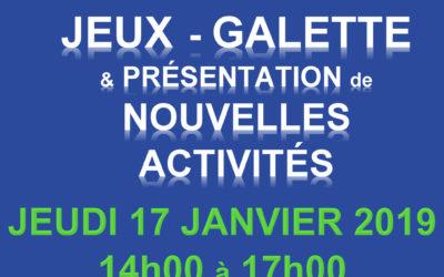 Le club séniors vous invite le 17/01/2019