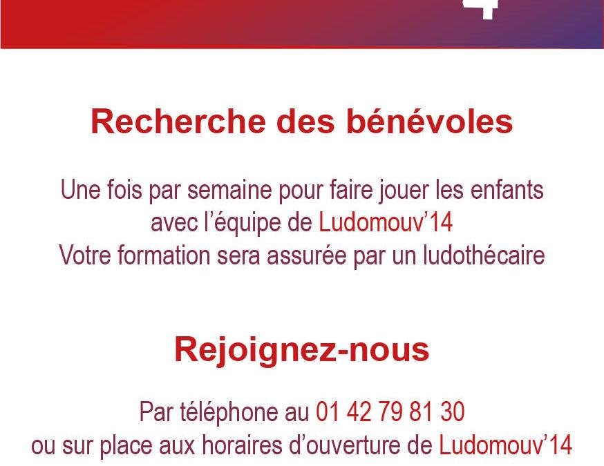 Ludomouv'14 recherche des bénévoles