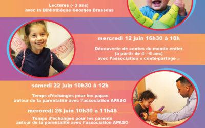 Programme de juin Ludido