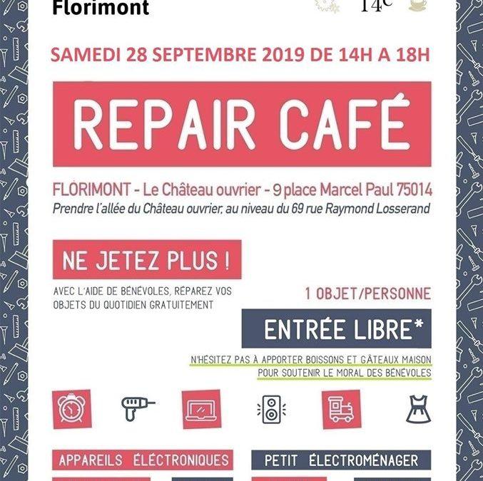 REPAIR CAFE ouvre en Septembre