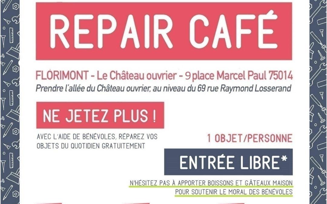 REPAIR CAFE ouvre deux atelier cette  été