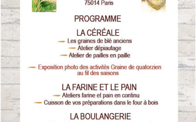 Programme Banquet des pains 2019