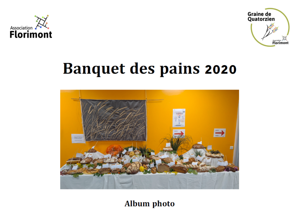 Album photo du banquet des pains 2020