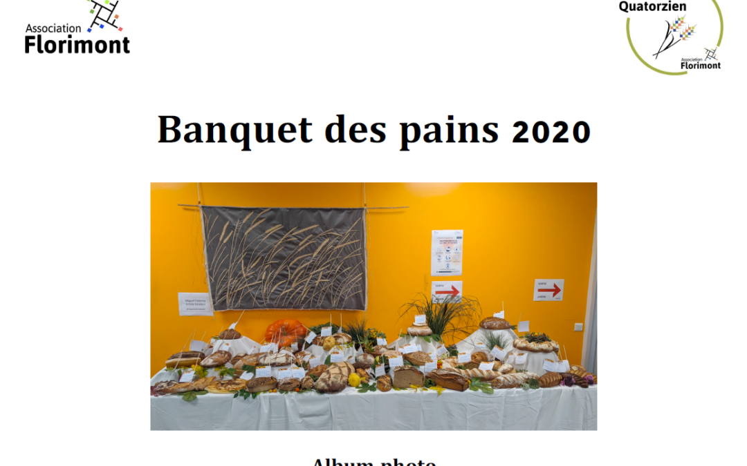 Album photo du banquet des pains 2020