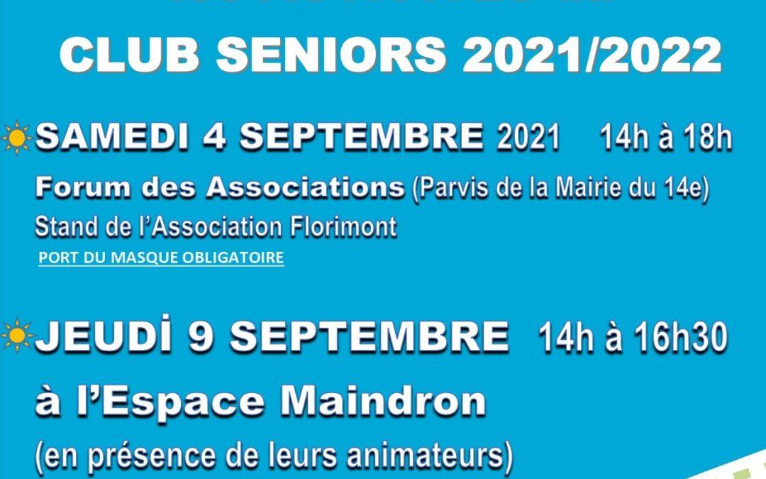 Le Club Seniors Maindron fait sa rentrée