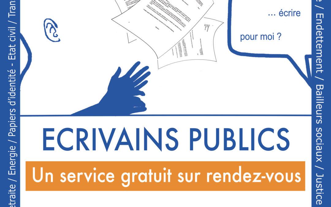 Lancement du projet Ecrivains publics