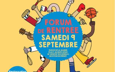 Florimont est au forum des associations le 8 septembre