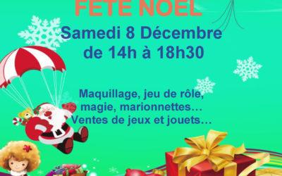 Fête de Noël à Ludido le 8 décembre