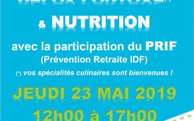 Le Club séniors vous invite à un repas partagé le 23/05/19